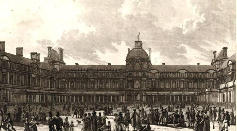 Exposition des produits de l'industrie de 1802 dans la cour du Louvre