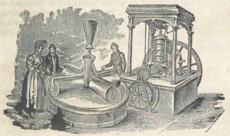 torrefacteur de cacao de M Devinck