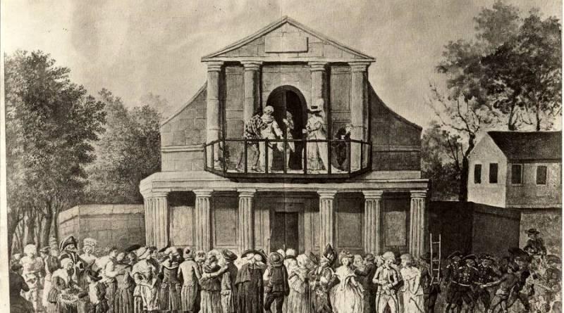 Théâtre de foire Saint Laurent au XVIIIe siècle