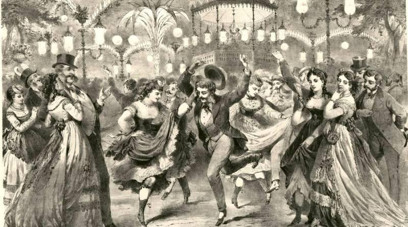 Le bal Mabille par Provost