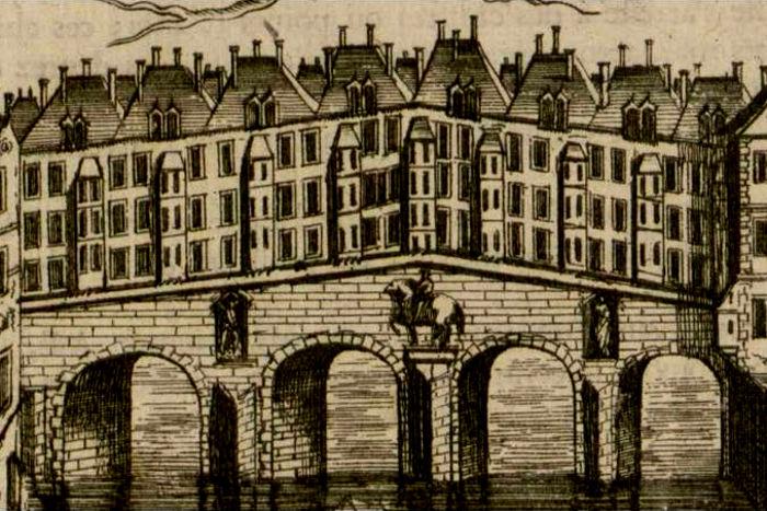 Les maisons sur les ponts