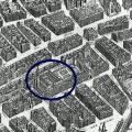 Saint Magloire extrait du plan de Turgot 1739