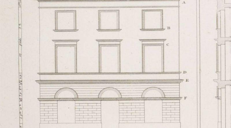 maison rue des trois frères par J. Ch. Krafft