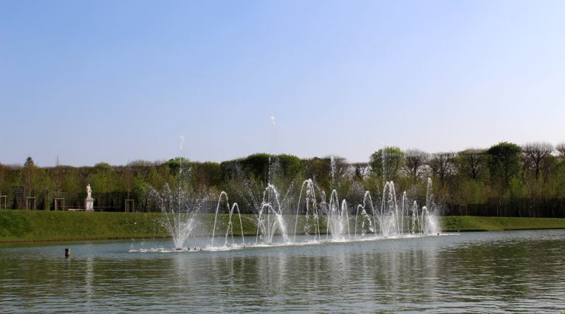 bassin du miroir de Versailles
