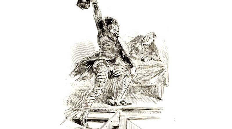 le furibond orateur des club par Gustave Doré