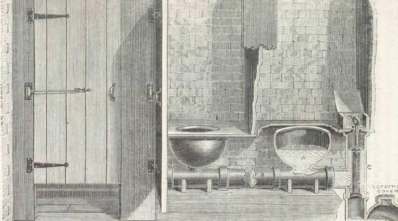 Recommandation des cabinets d'aisance par Doulton et Cie