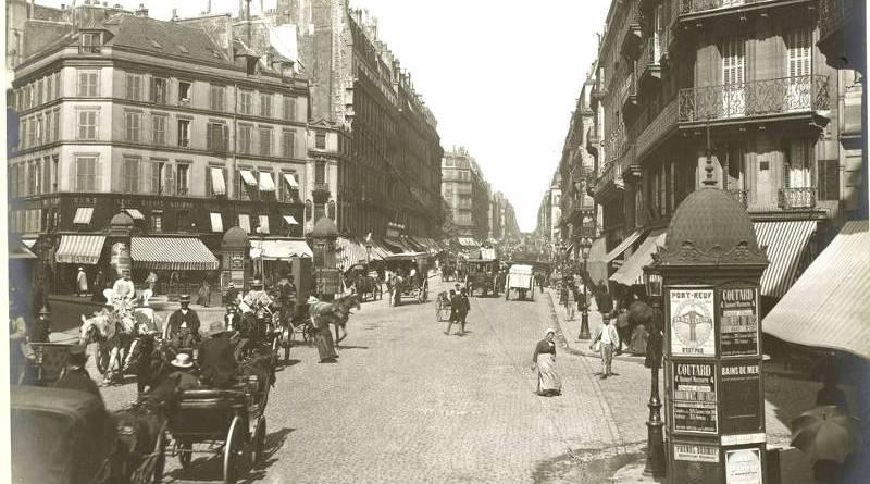 Rue Lafayette -Promenades dans Paris en 1889 photographie de Léon et Lévy