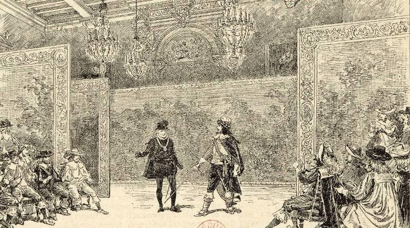 théatre du Marais - scène du Cid de Corneille par Adrien Marie