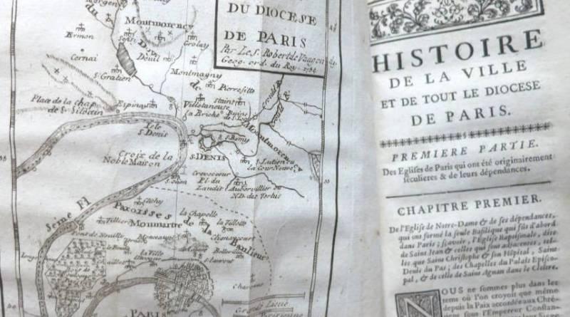 image de la première édition de Jean Lebeuf