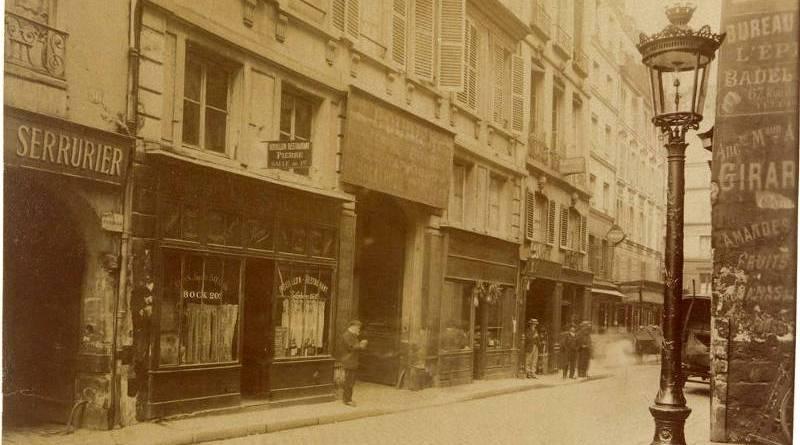 56, 54, 52 rue de la Verrerie par Eugène Atget 1912