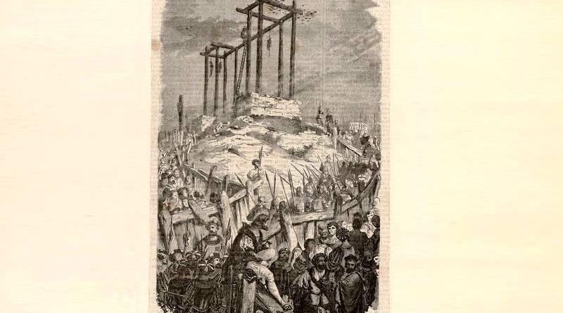 Gibet de Montfaucon Collection Jaquet La Gravure sur bois Horace Castelli