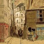 Rue de la petite truanderie par Jules Adolphe Chauvet - 1893