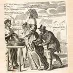 coupeurs de bourse illustration par Jacques Lagniet au XVIIe siècle