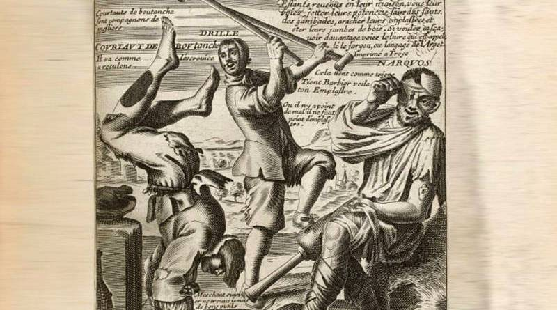 illustration du miracle des gueux en proverbe par Jacques Lagniet au XVIIe siècle suite