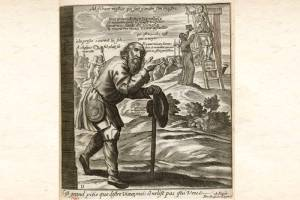 mendiants illustration par Jacques Lagniet au XVIIe siècle