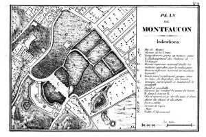 plan de la voirie de Montfaucon
