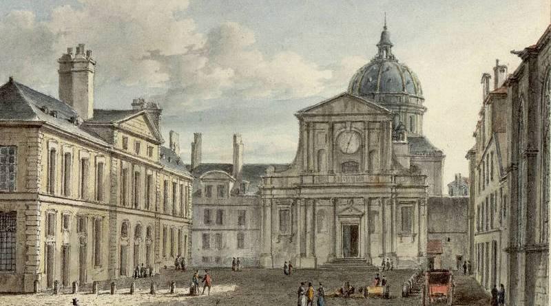 Place de la Sorbonne par Victor Jean Nicolle