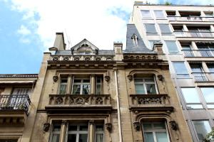hôtel de Gaston Aubry au 8 rue Eugène Flachat