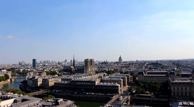 vue du haut de la Tour Saint Jacques