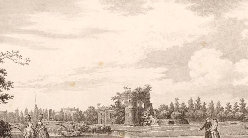 chateau ruiné du jardin du duc de Chartres