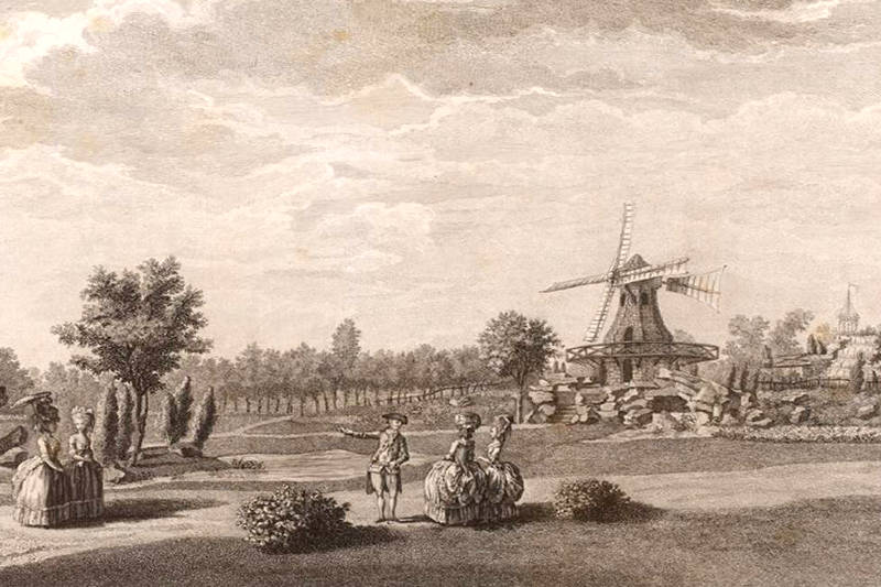 moulin à vent du jardin du duc de Chartres