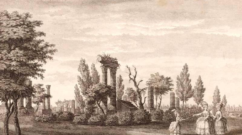 temple de mars du jardin du duc de Chartres