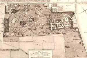 plan du Jardin du duc de Chartres