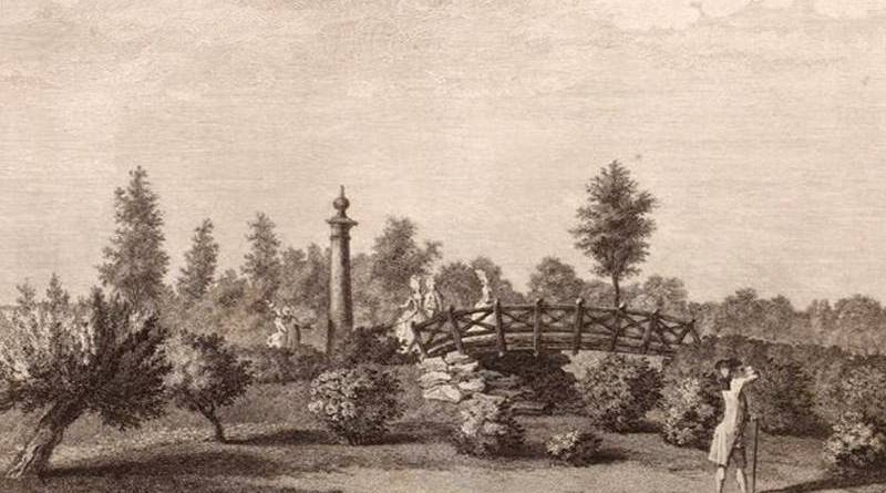 ponts du jardin du duc de Chartres