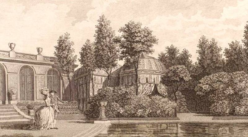 tentes turques du jardin du duc de Chartres