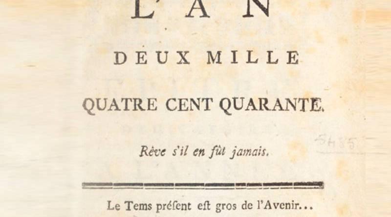 couverture de l'an 2440 de Louis Sébastien Mercier