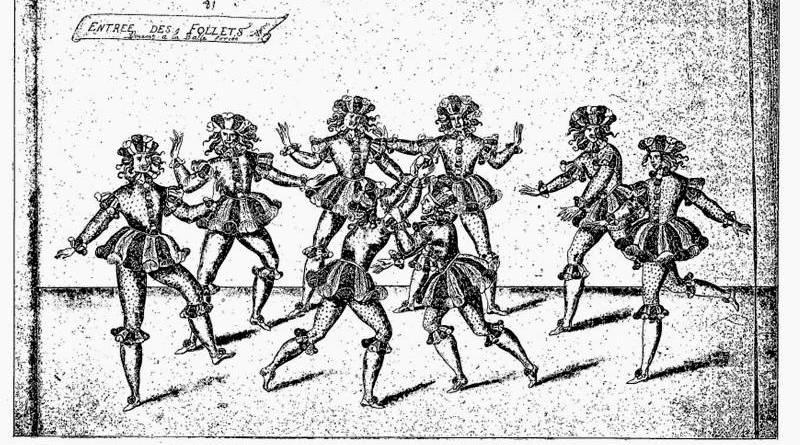 entrées des follets, ballet sous Louis XIII