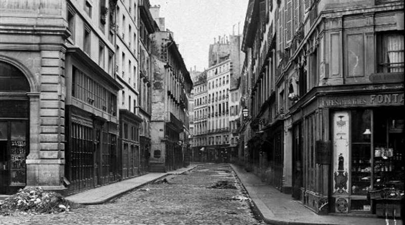 rue de la michodière par Charles Marville