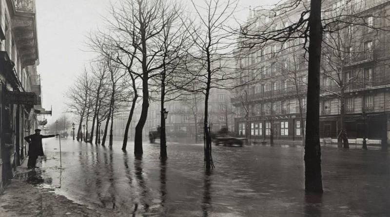 avenue Ledru Rollin inondée par la crue de 1910