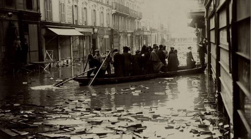 La rue Saint-Dominique en janvier 1910