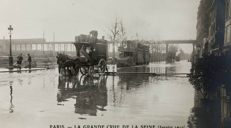Inondation du Quai de Passy