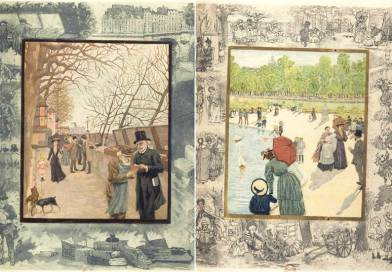 illustration de Balades dans Paris par E R Paul Eudel, B H Gausseron et Adolphe Retté