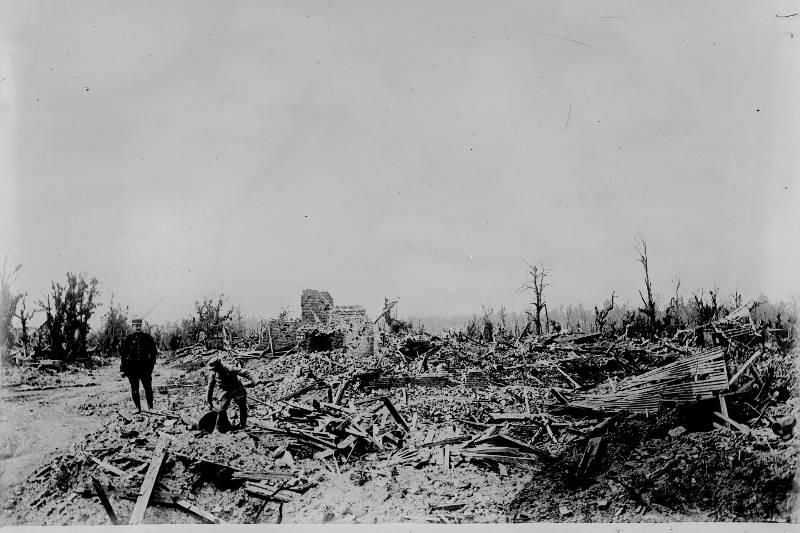 Ruines par Agence Rol en 1918