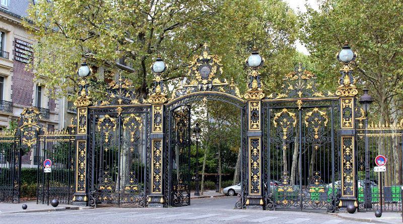 grilles du Parc Monceau