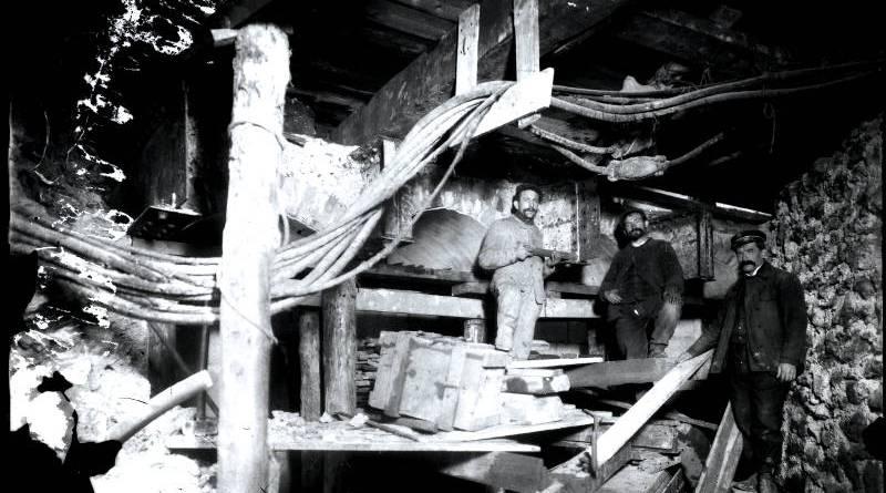 Travaux dans la station Réaumur-Sébastopol