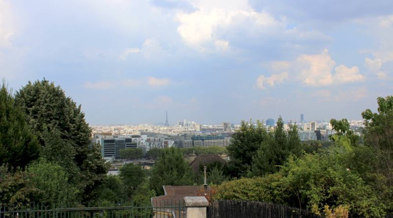 vue de Bellevue sur Paris