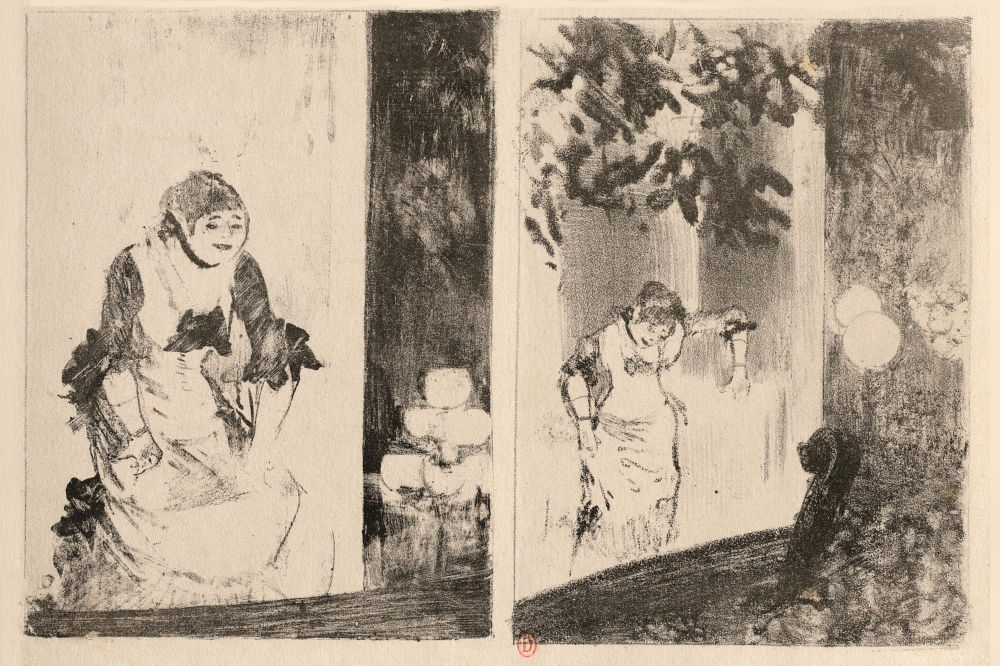 Aux ambassadeurs par Edgar Degas