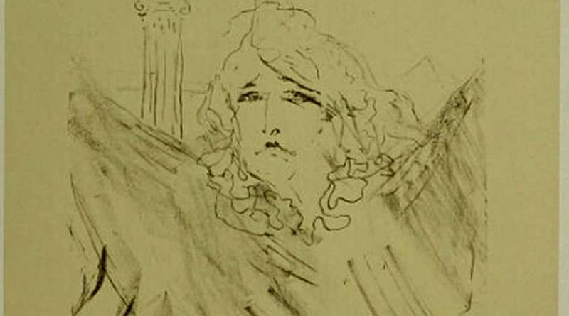 Sarah Bernardt par Toulouse Lautrec