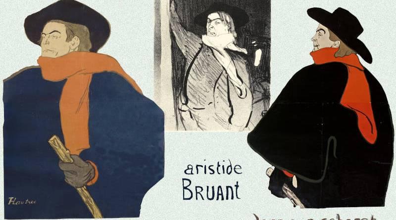 Aristide Bruant par Toulouse Lautrec