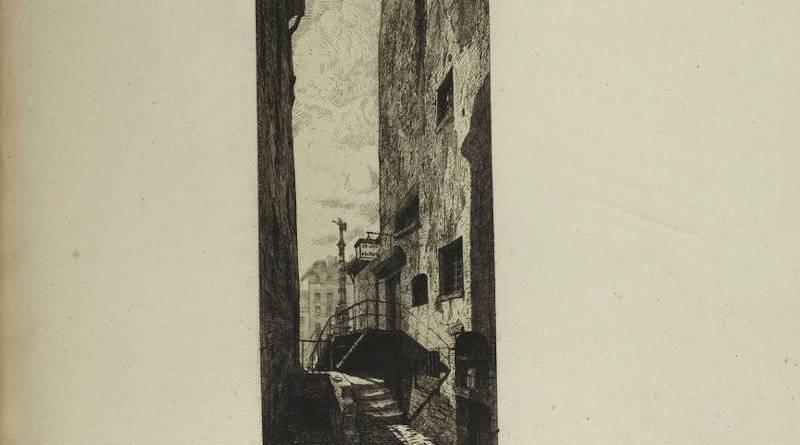La rue de la Lanterne par Martial Potémont