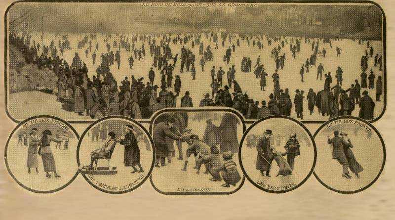 la fete du patinage de 1914