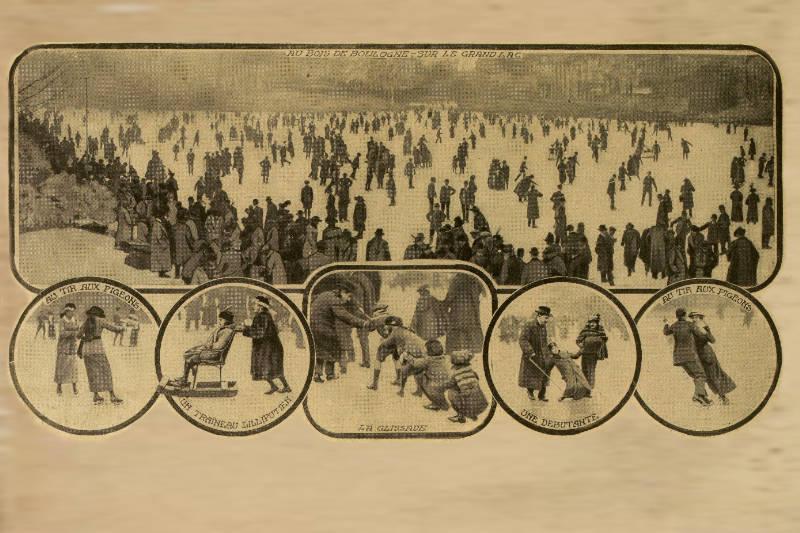 la fete du patinage de 1914