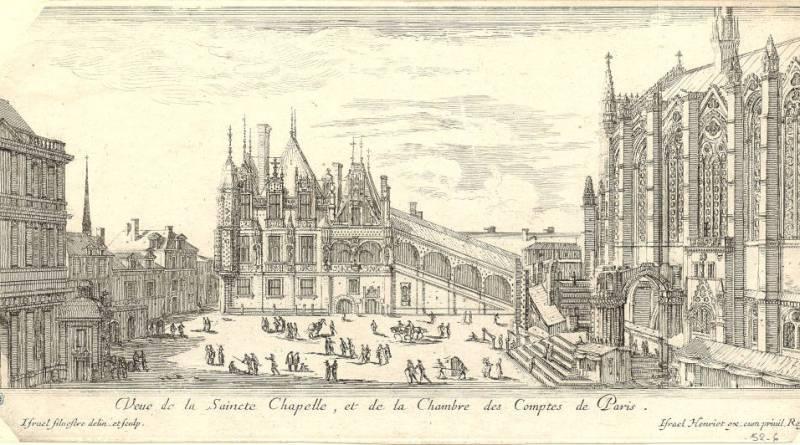 Veue de la Saincte Chapelle et de la Chambre des Comptes de Paris - Numélyo