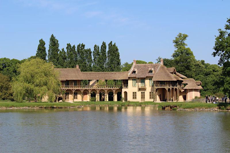 la maison de la reine à Trianon