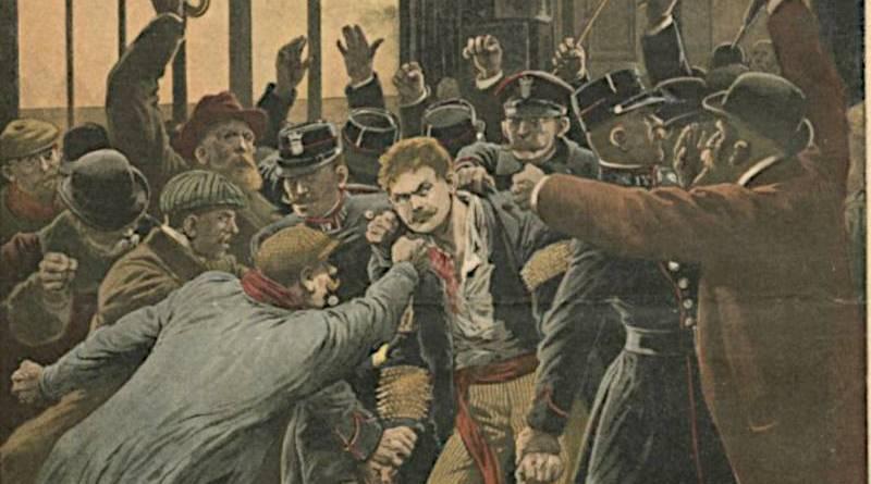 tuerie de la rue Aubry le boucher - extrait du Journal illustré du 23 janvier 1910