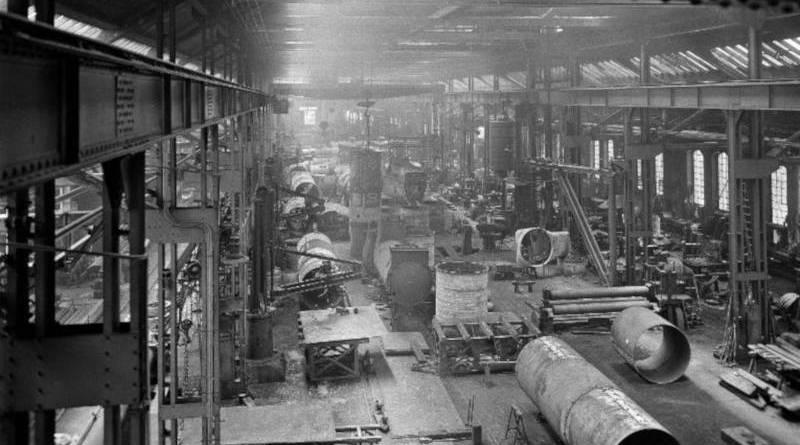 chaudronnerie des usines de Graffenstaden